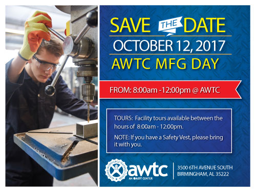 AWTC hosted our 2nd Annual MFG Day